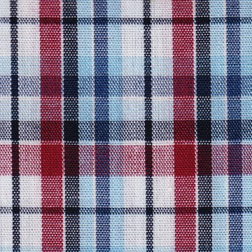 SU64 ( White, Maroon,Navy & Black Check )
