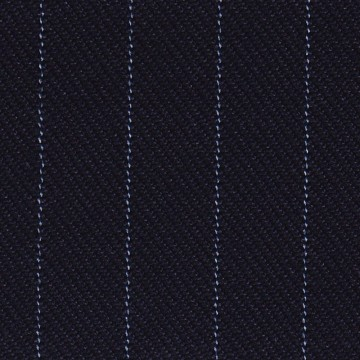 TTW92 ( Dark Navy Blue With Blue Stripe )